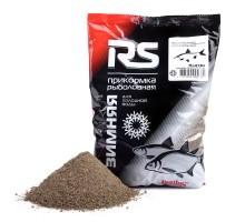 Прикормка увлажнённая RS Плотва тёмная (холодная вода), 0,75кг